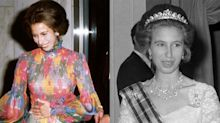 Seven stunning throwback photos of Princess Anne as she turns 70