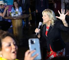 Video shows a Nashville crowd booing after Jill Biden called out low COVID-19 vaccination rates in Tennessee