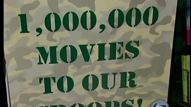 Video store sends 3,000 films to troops