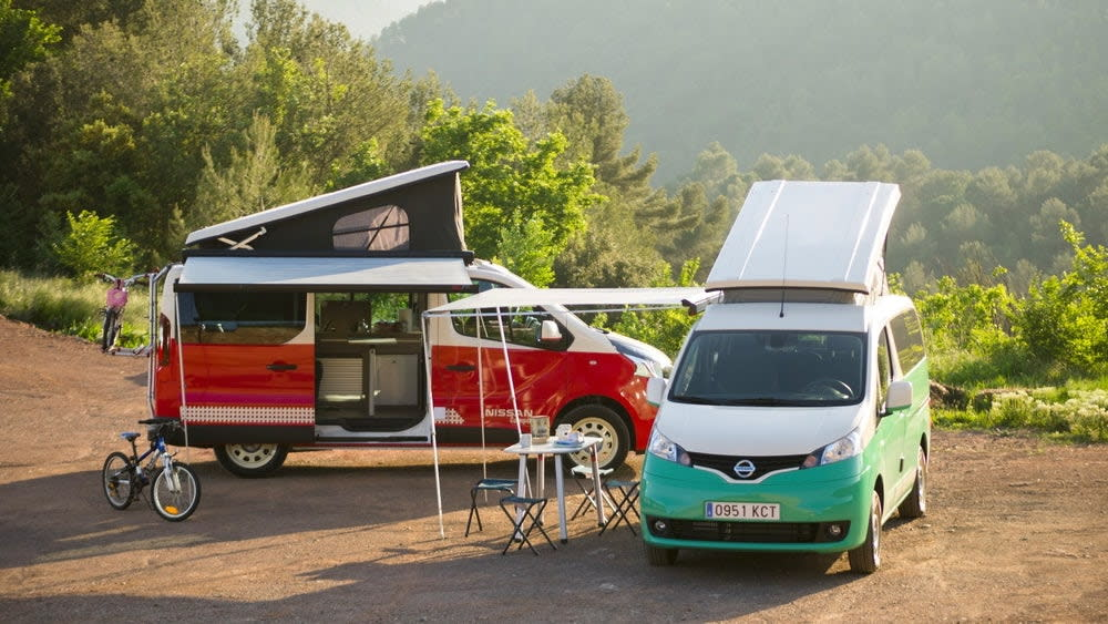 露營車電動化!Nissan e-NV200 Camper陪你上山下海