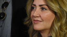 Andrea Legarreta responde a rumores que la vinculan con una mujer que cometió actos vandálicos