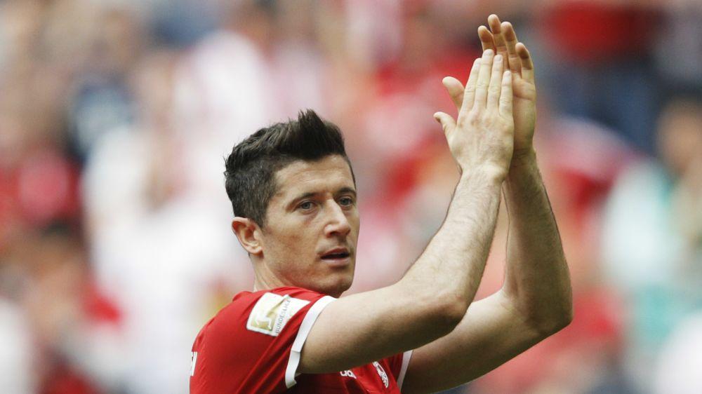 Lewandowski returns to Bayern training before Real Madrid showdown