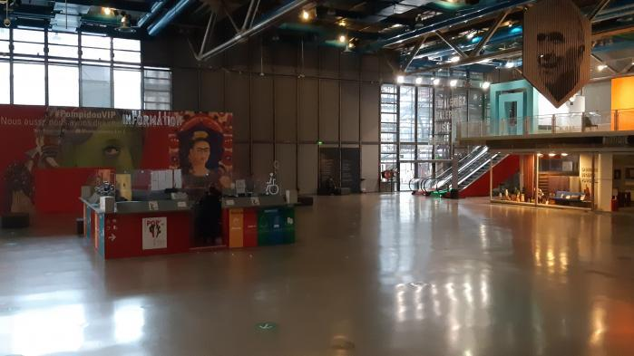 Covid-19 : les équipes du Centre Pompidou continuent de travailler en attendant le retour du public