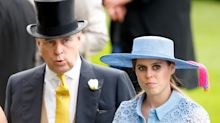 Prince Andrew absent from Beatrice's wedding photos – but she isolated with him before big day