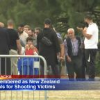 New Zealand mosque funerals begin: father, son buried