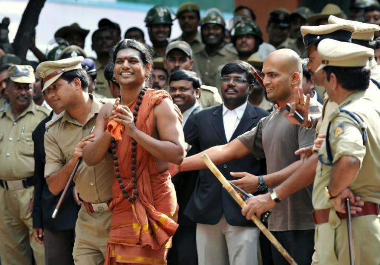 Swami Nithyananda is one of many self-styled Indian 'godmen' with thousands of followers and a chequered past