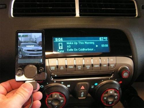 Chevy Camaro evidently nabs Microsoft Zune support