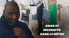 Omar Sy fait diversion comme Arsène Lupin dans le métro parisien