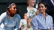"Meghan Markle Cried During Serena Williams' Wimbledon Speech for ""All the Moms Out There"""