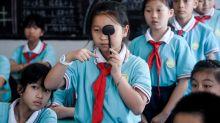Chinese province bans app-based homework to save students' eyesight
