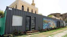 Cairo 'cargotecture' company transforms shipping containers into homes