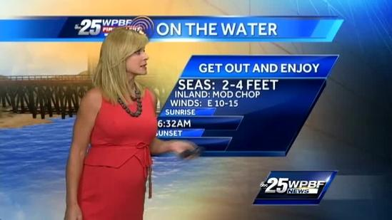 First Alert Forecast: Sunny skies on tap again