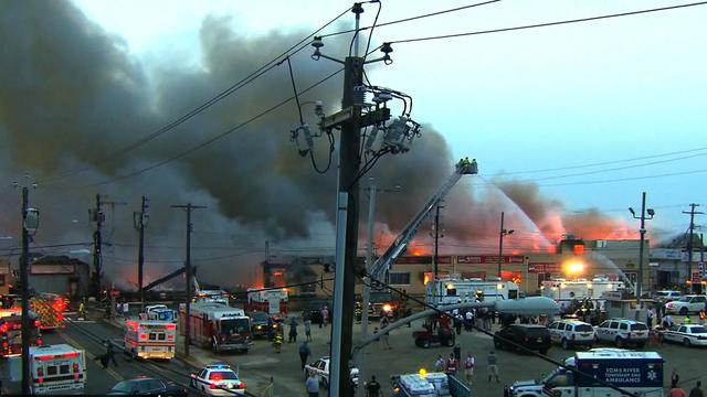 Investigation begins into Jersey shore fire that destroyed boardwalk