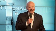 Peter Mansbridge gives send-off speech