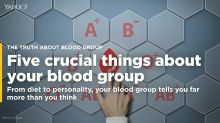 Five crucial things you need to know about your blood group