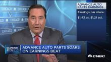 Advanced Auto Parts soars on earnings beat