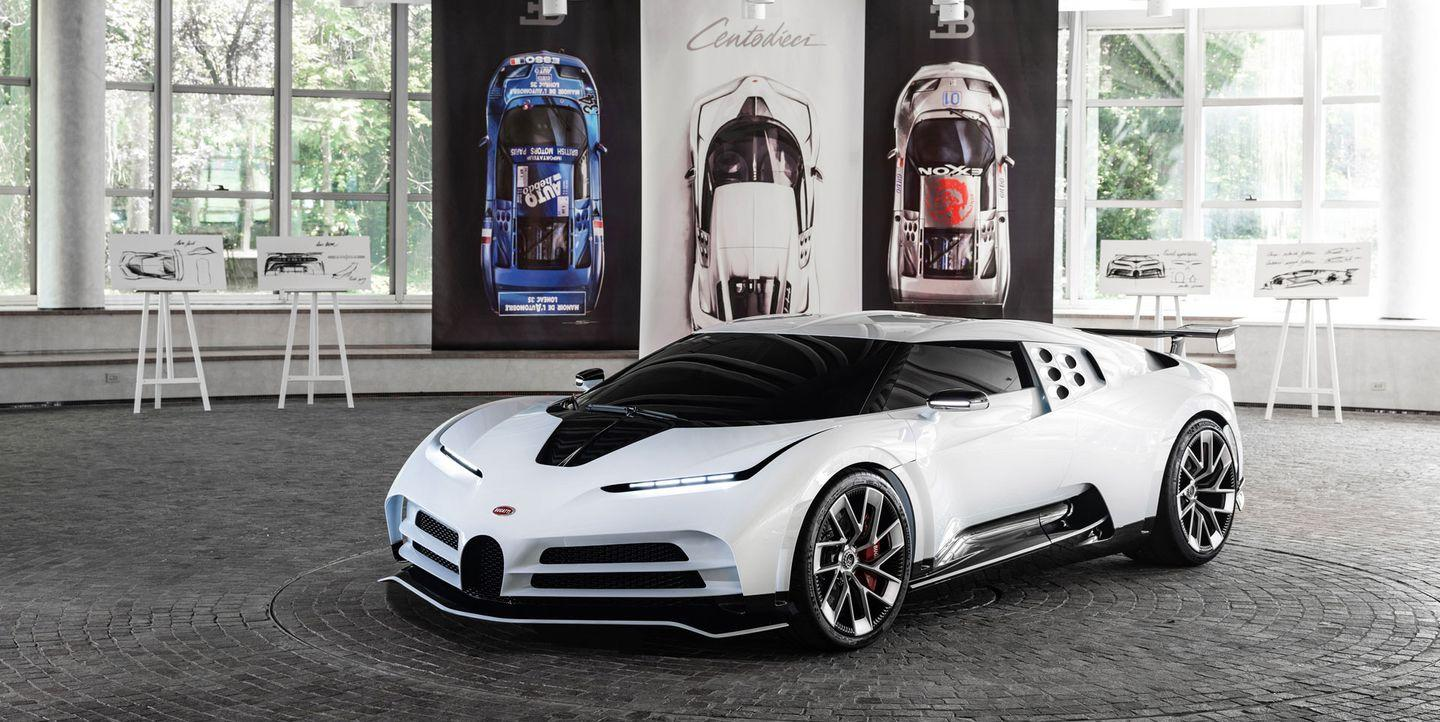 The Bugatti Centodieci Is a $9 Million, 1600-HP Tribute to the EB110