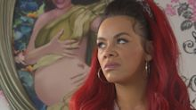 Hollyoaks' Goldie McQueen clashes with Shane tonight