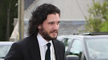 Kit Harington Arrives for Wedding to Rose Leslie
