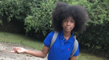 10-year-old girl's motivational video about embracing her natural hair goes viral: 'Don't allow anyone to steal your joy'