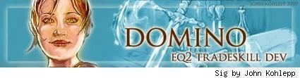 """Tradeskill developer for EQII Emily """"Domino"""" Taylor chats about her role"""