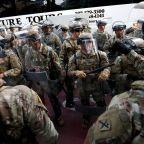 Lightning Strike Injures 2 National Guard Members in DC