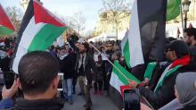 Palestine Supporters Rally in Paris Prior to Israeli Prime Minister's Visit