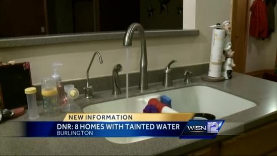 Contamination found in Burlington wells