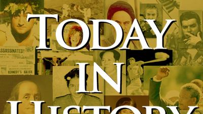 Today in History for March 30th