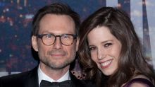Surprise! Christian Slater and Wife Brittany Welcome a Daughter
