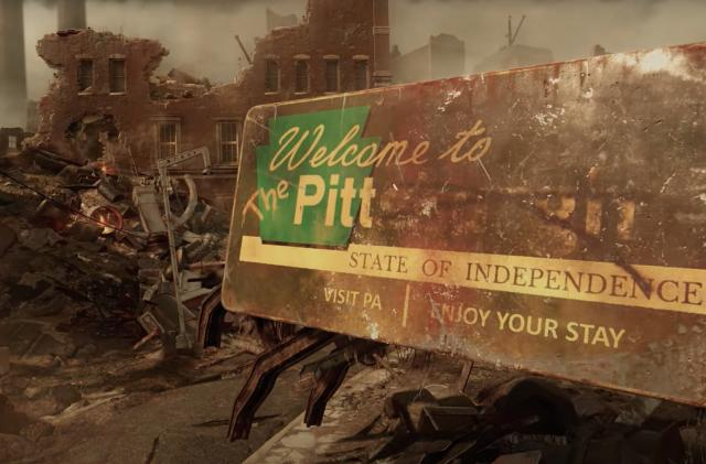 'Fallout 76' is headed to Fallout 3's Pittsburgh in 2022