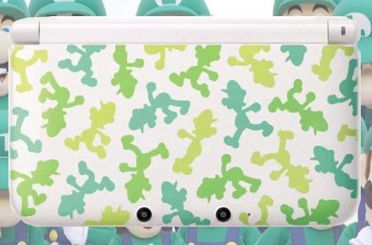 Luigi edition Nintendo 3DS LL gives Mario's brother his due, but only in Japan