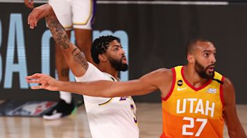 AD's huge game clinches top seed for Lakers