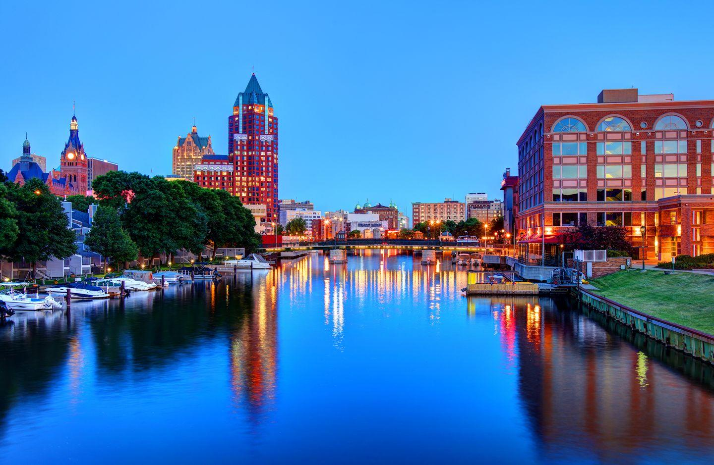 """<p><strong>Why for 2020:</strong> Next year, the city will be the host for the Democrat National Convention (DNC) where the party will select its nominees for President and Vice President to take on Trump in the 2020 election which will bring renewed focus to the city. This is one of the reasons, according to Airbnb, to explain why there has been a whopping 729% year-on-year increase in people searching for accommodation in the city.</p><p><strong>Top tips: </strong>The booking platform says the city's impressive bar and restaurant scene often 'slips under the radar' but should not be overlooked. The city is also home to cultural attractions like the city's art museum and sits on the shores of Lake Michigan so offers plenty of opportunities for water sports. For any avid cyclists, the city offers 105 miles of scenic bike lanes with plenty of rental stores to pick up a bicycle tool.</p><p><a class=""""link rapid-noclick-resp"""" href=""""https://go.redirectingat.com?id=127X1599956&url=https%3A%2F%2Fwww.airbnb.co.uk%2Fs%2FMilwaukee--WI&sref=http%3A%2F%2Fwww.elle.com%2Fuk%2Flife-and-culture%2Fculture%2Fg32358%2Fholiday-destinations%2F"""" rel=""""nofollow noopener"""" target=""""_blank"""" data-ylk=""""slk:Find Airbnbs in Milwaukee"""">Find Airbnbs in Milwaukee</a></p>"""