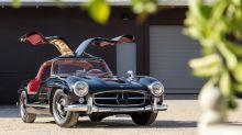 鷗翼門原祖!1955 年產 Mercedes-Benz 300SL Gullwing Coupe 將公開拍賣
