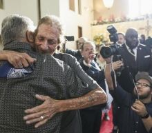 Hundreds of strangers queue for El Paso shooting victim's funeral after husband feared no one would show up