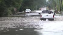 Severe flooding in U.S. East Coast