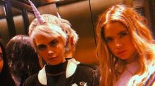 Cara Delevingne is totally here for Ashley Benson's nude photo