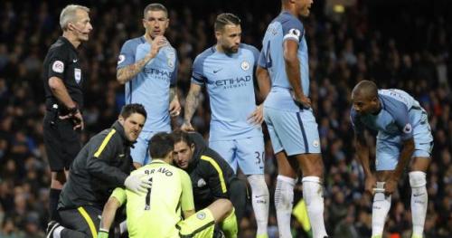 Foot - ANG - City - Manchester City : Fin de saison pour Claudio Bravo ?