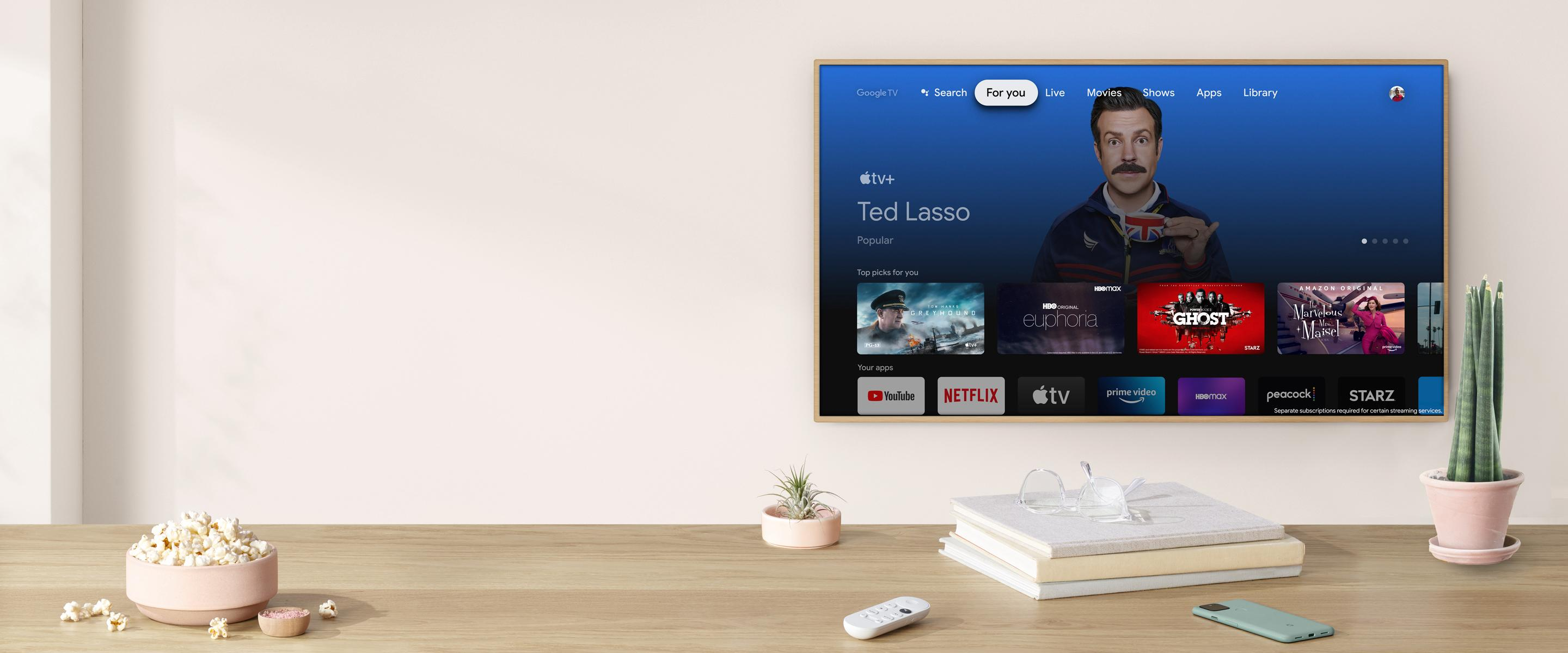 Apple TV+ is now available on Google TV - Engadget