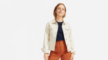 Everlane just released new denim jackets just in time for fall