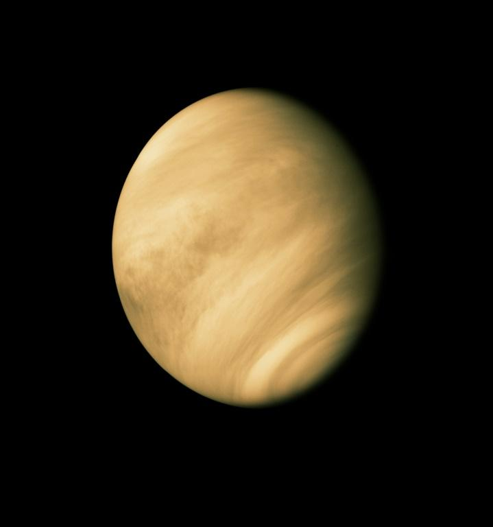 """Conditions on Venus are often described as """"hellish"""" with daytime temperatures hot enough to melt lead and an atmosphere comprised almost entirely of carbon dioxide"""
