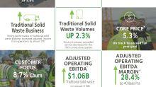 Waste Management Announces Second Quarter Earnings