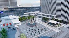 Fifth Third Center Stage Dedicated on Hometown Fountain Square