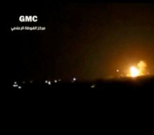 Israel strikes arms depot near Damascus airport: sources