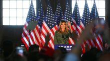 Melania Trump wirbt bei erstem Solo-Wahlkampfauftritt für Wiederwahl ihres Mannes