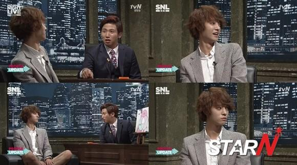 Jung Jun Young mentions about Roy Kim on 'SNL Korea'
