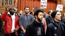 Middlebury College has punished 67 students for the protest of a controversial lecture which later turned into a physical confrontation
