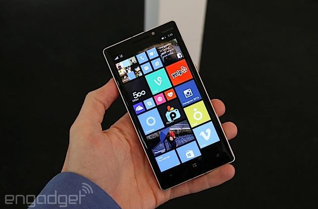 The Nokia Lumia 930 is a global version of the Icon (hands-on)