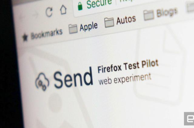 Mozilla file sharing test wipes files after one download